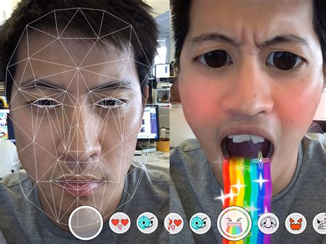 snapchat selfie filters business insider
