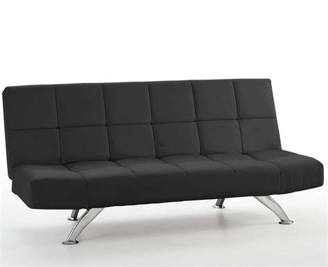 Black Sofa Beds Venice 4ft Black Faux Leather Sofa Bed Just 4ft Beds