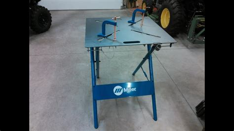 welding table for sale miller 30fx arcstation 30 quot x 30 quot welding table my review by