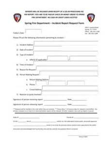 department incident report templates incident report template department best free