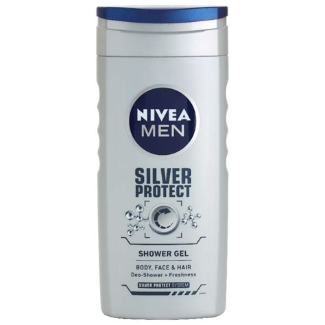 Nivea Shower Gel by Nivea Silver Protect Shower Gel On And Hair