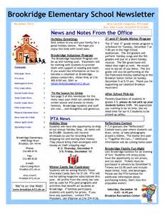 College Newsletter Elementary School Newsletter Templates Pictures To Pin On Pinsdaddy