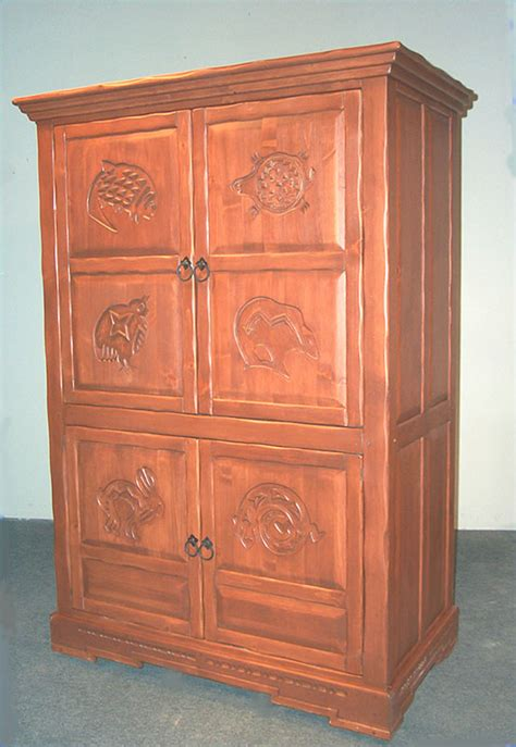 Southwest Style Bedroom Furniture by Mimbres Custom Southwest Bedroom Set