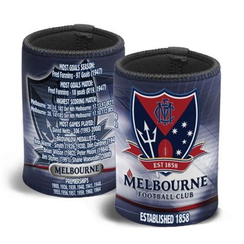 Barware Melbourne melbourne afl stubby holder afl barware zone gift ideas memorabilia cave