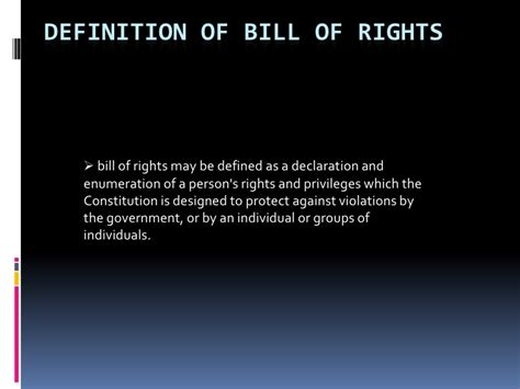 Section 1 3 Bill Of Rights