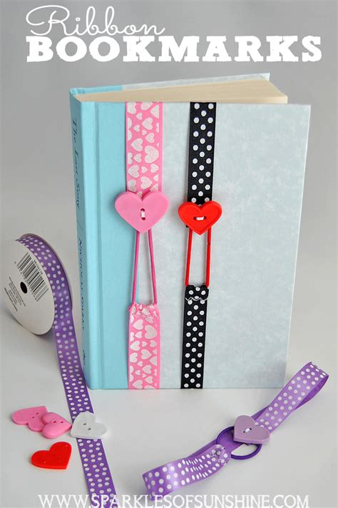 make your home beautiful with accessories ribbon bookmarks sparkles of sunshine