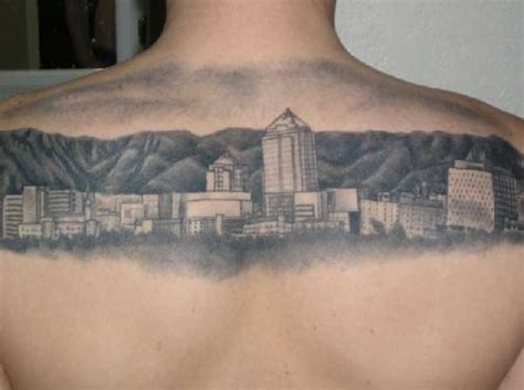 albuquerque tattoo albuquerque skyline