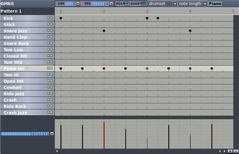 drum pattern creator hydrogen a free powerful drum machine musicainformatica org