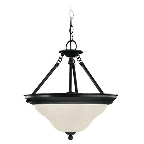 Sea Gull Lighting Sea Gull Lighting Sussex 3 Light Heirloom Bronze Semi Flush Mount Light 69562ble 782 The Home