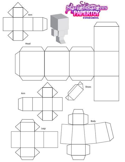 papertoy template by saintpoet on deviantart
