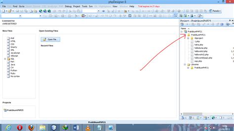 membuat website dengan php designer 8 php1 membuat project site php dengan dreamweaver php