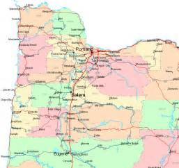 map of west oregon pictures to pin on
