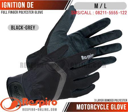 Respiro Glove Rgl 204 Black sarung tangan motor respiro ignition best seller respiro