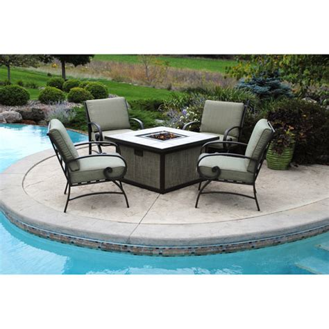 conversation patio sets with pit better homes and gardens pine cove 5 patio