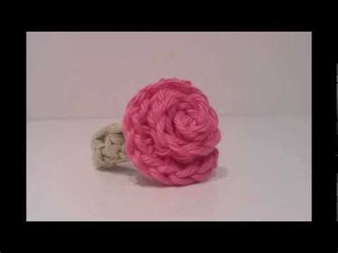 youtube a pattern of roses how to crochet a rose flower ring tutorial youtube