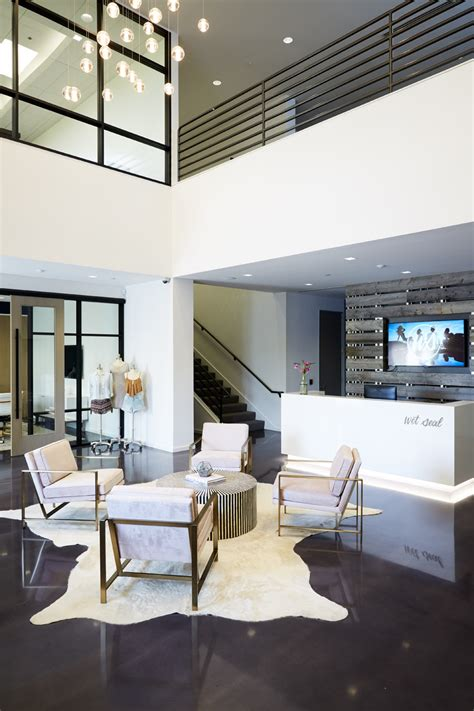 West Elm Corporate Office by A Fashion Forward Office Makeover With Seal Front