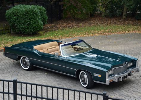 1976 Cadillac Eldorado Convertible by 35k Mile 1976 Cadillac Eldorado Convertible For Sale On