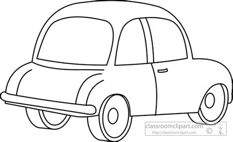 cartoon sports car black and white cars clipart cars cartoon 02 outline classroom clipart