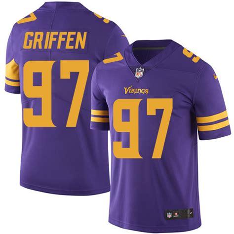 youth purple rice 27 jersey shopping guide p 416 mens minnesota vikings 97 griffen elite white team