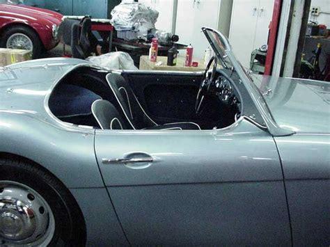 car upholstery austin austin healey restoration reupholster austin healey