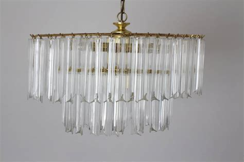 Modern Acrylic Chandelier Mid Century Modern Lucite Chandelier America 1960s For Sale At 1stdibs