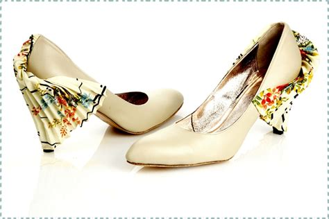 unique bridal shoes kimono print unique bridal shoes