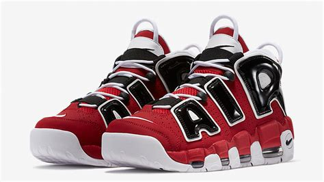 Air Up by Nike Air More Uptempo 96 Black 921948 600 The Sole