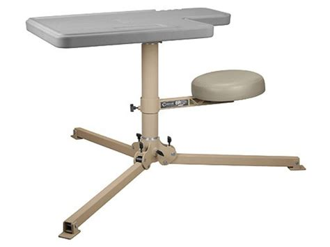 shooters bench caldwell br pivot premium shooting bench synthetic top