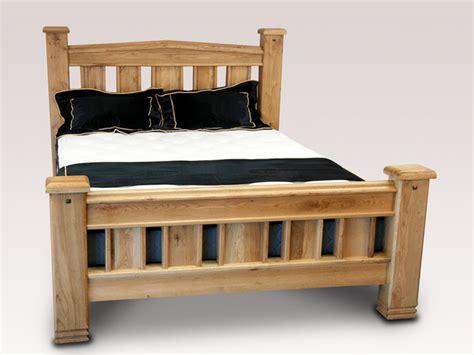 Honey B Donny King Size Oak Bed Frame Oak Bed Frame King Size