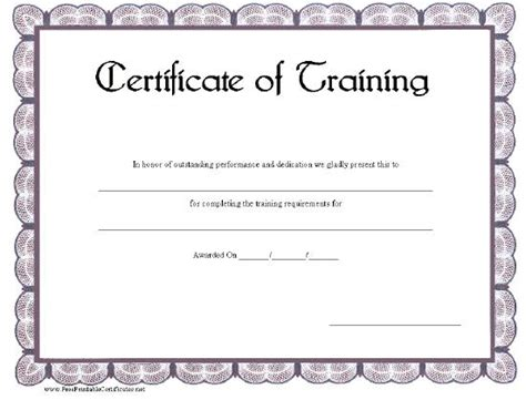 certificate of certification template top 5 resources to get free certificate templates