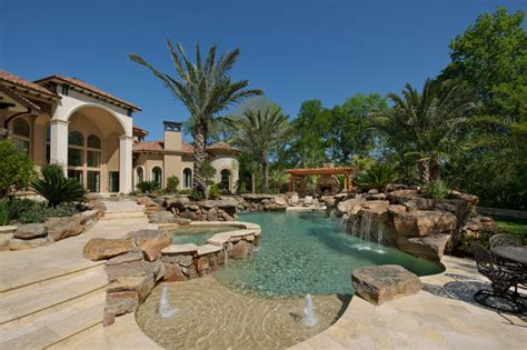 mediterranean pool richmond estate mediterranean pool houston by