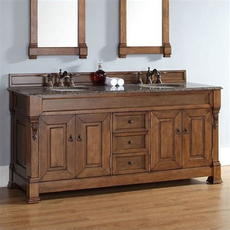 james martin bathroom vanities 72 quot double country oak bosco brookfield bathroom vanity by