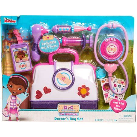 Bathtub Doctor Reviews Disney Junior Doc Mcstuffins Toy Hospital Doctor Bag
