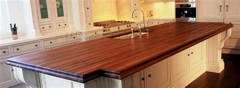 can an undermount sink be used on a wood countertop or