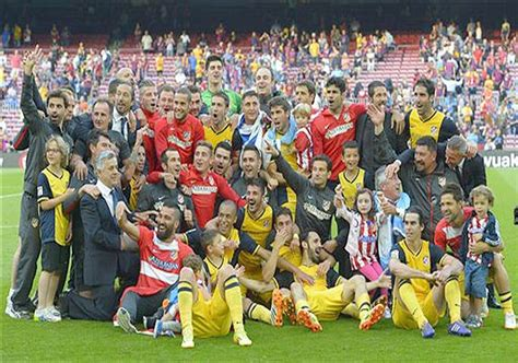 Atletico Years 1 atletico madrid wins title with 1 1 draw against