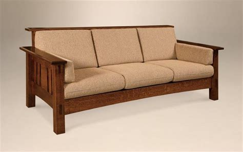 mission style couch craftsman style sofa antique pullman stickley arts and