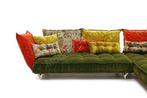 Bretz Sofa Kaufen by Bretz Ohlinda Ecksofa Oliv Orange Gold M 246 Bel Letz Ihr