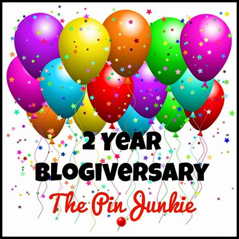 Junkie Links 2 by Co Hosting The Pin Junkie S 2yr Blogiversary Link