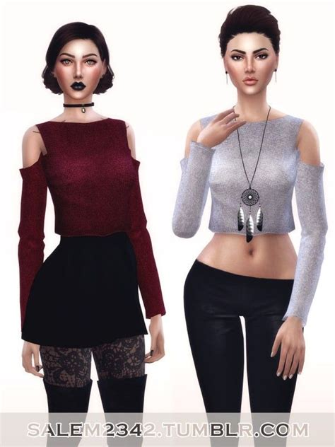 Crop Top Blouse Cc 280 best images about my sims 4 cc on rompers