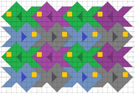 tessellation templates fish images
