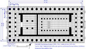 floor plan of the parthenon niceworks