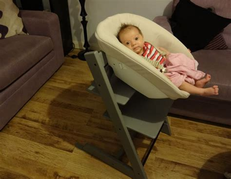 House Gifts by Review Stokke Storm Grey Tripp Trapp Chair Amp Newborn Set
