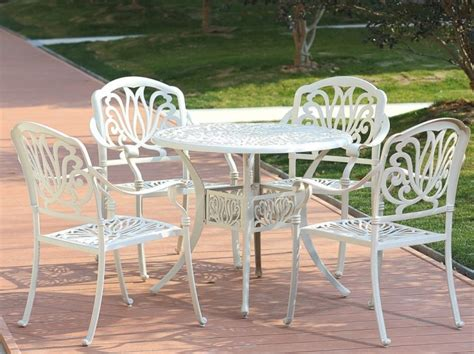 piece patio dining set cusions orig free pickup on hton 5 piece clairne cast aluminum outdoor dining set fresh