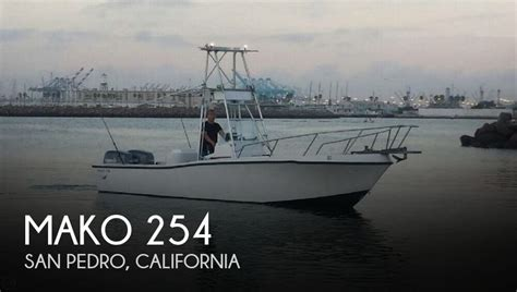 mako boats california canceled mako 254 boat in san pedro ca 092832