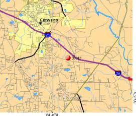 map of conyers 30013 zip code conyers profile homes