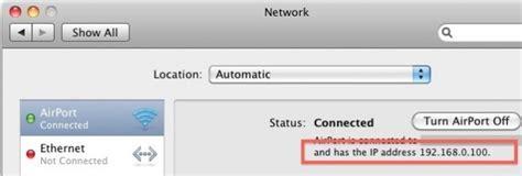 Mac Address To Ip Address Finder Find Your Ip Address On A Mac
