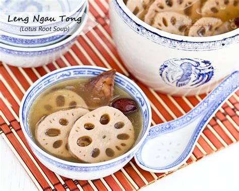 Lotus Root Soup Benefits Leng Ngau Tong Lotus Root Soup Malaysian Kitchen