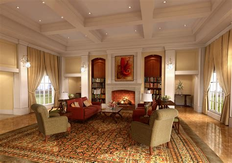 Home Decoration Interior Classic Interior Design