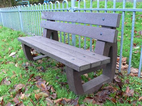 park bench materials bradley garden bench park bench recycled plastic trade