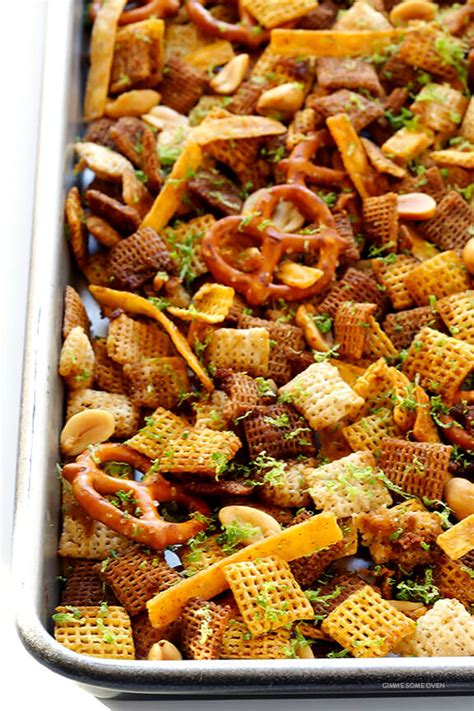 recipe for traditional chex mix tequila lime chex mix gimme some oven